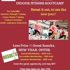 Indoor Boot camp Fitness Programme