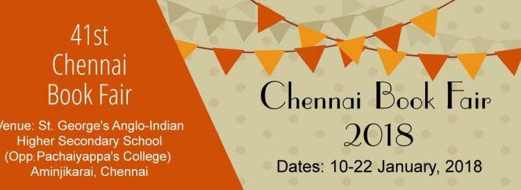 Chennai Book Fair Contests 2018