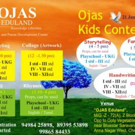 21 Jan 2018 Kids contest @ Ojas