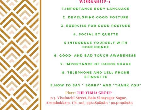 """Personality Development "" Workshop for Kids"