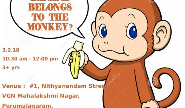 "Brazilian Folktale ""Why the Banana belongs to the Monkey"" on 03.02.18"