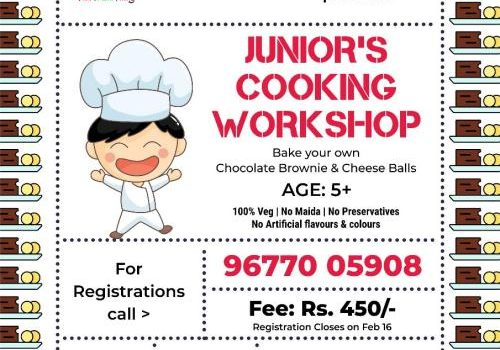 Juniors Cooking Workshop