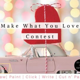 """Plowns Contest – 9th to 16th Feb –  """"Make What you Love"""" contest"""