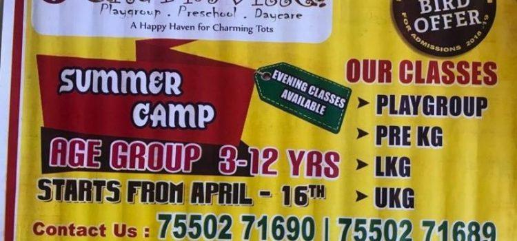 CHARMVILLE PRESCHOOL Summer Camp 2018