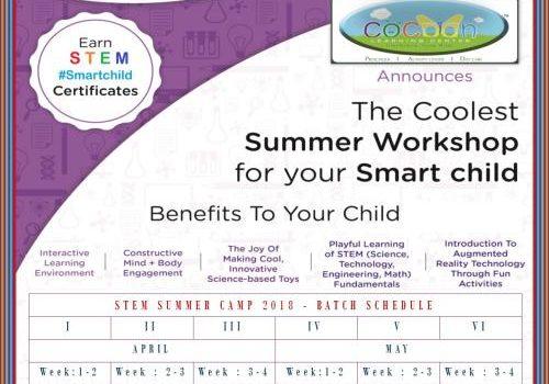 The Coolest Summer STEM Workshop for Children