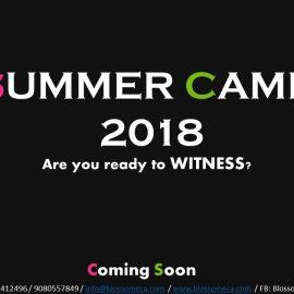 Blossom Summer Camp 2018