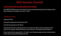 Kids Summer Carnival – Online Fest