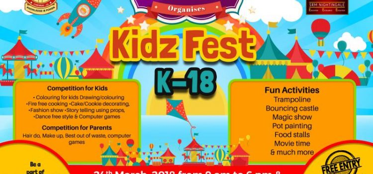 SRM Nightingale Kidz Fest K-18