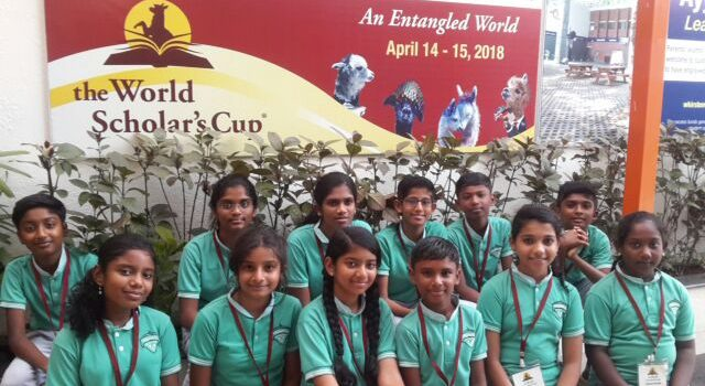 Vedanta Academy (CBSE) Students Excel at the World Scholar's Cup In Chennai