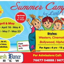Summer Camp at DINESH DANCE CREW Kodambakkam