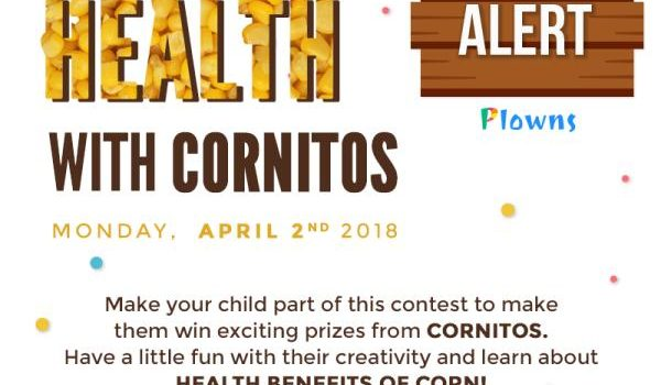 "Celebrate Health With ""Cornitos"" – Contest Alert on Plowns"