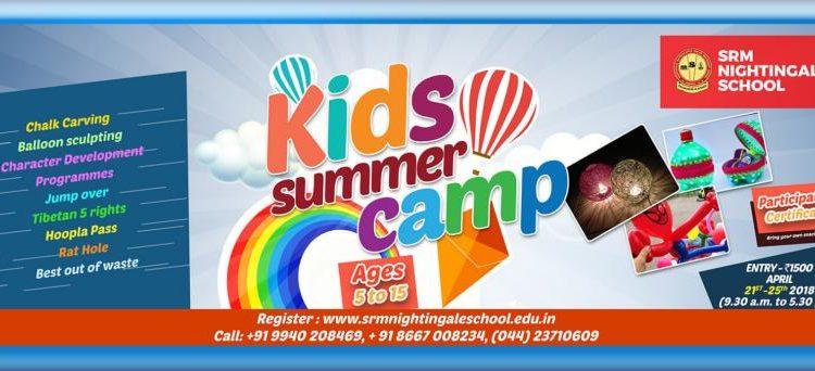 Kids Summer Camp at SRM Nightingale School