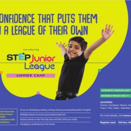 The Hindu STEP Junior League : A Summer Camp for Children