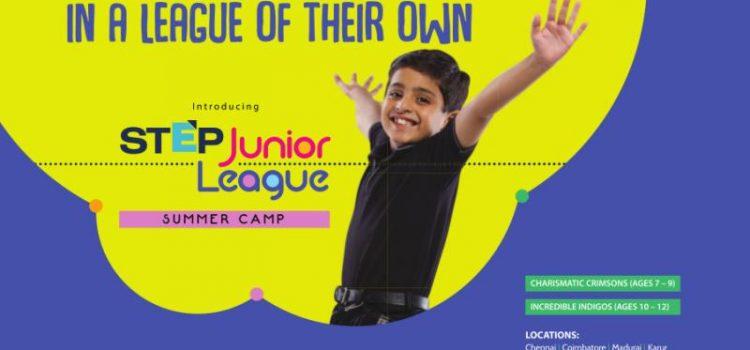 The Hindu STEP Junior League : A Summer Camp for Children