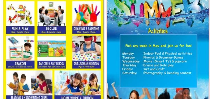 One Week May Summer Camp for Kids
