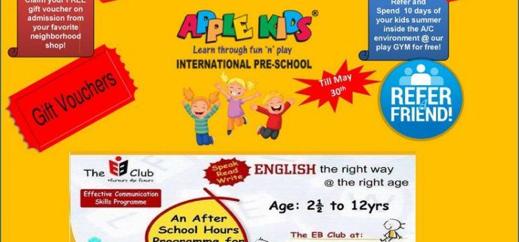 New Admission Offers Apple Kids Ambattur