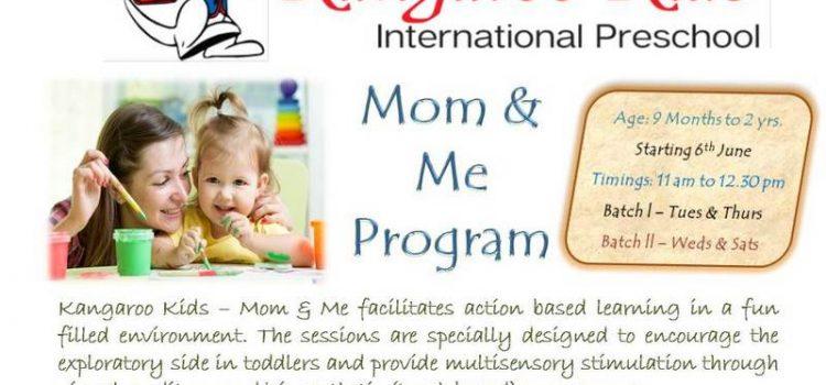 Kangaroo Kids Club – Mom and Me Program