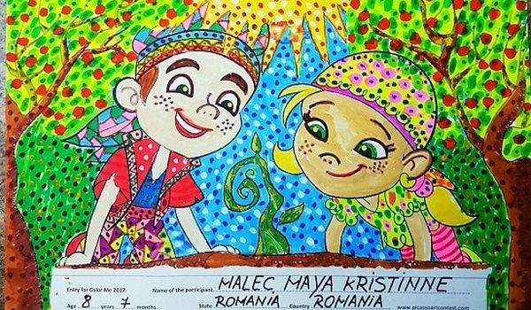 ColorMe 2018 by PicassoArtContest for 2 to 8 Years Old Kids