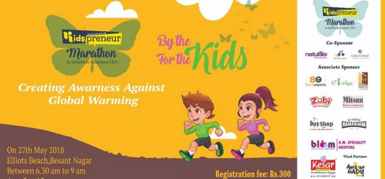 Kidspreneur Marathon on May 27, 2018