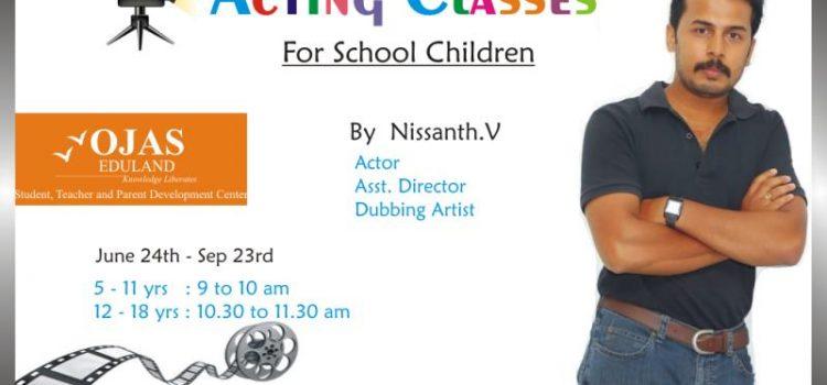 Acting Classes for School Children