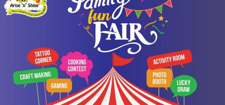 Family Fun Fair at Anna Nagar on June 9, 2018