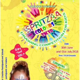 SPRITZAA COLOURS 2K18 Drawing Competition