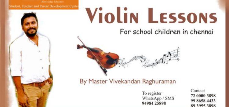 Violin Lessons for School Children