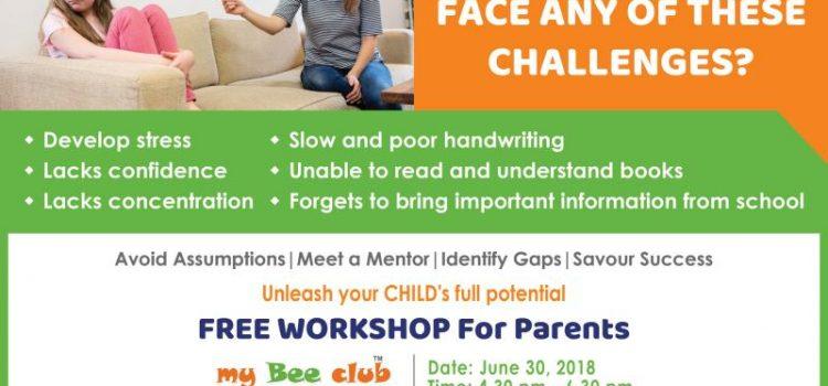 Arise n Shine International Free Workshop for Parents