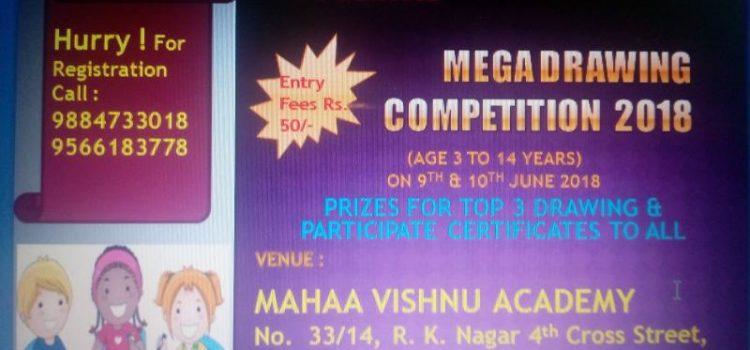 Mahaa Vishnu Acadaemy Presents MEGA DRAWING COMPETITION 2018