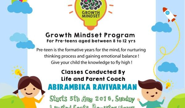 Green Minds Growth Mindset for Pre-Teens
