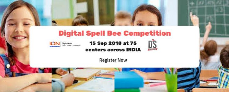 National SpellBee competition on 15 Sep 2018