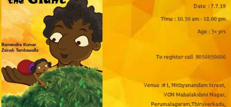 """""""PAPLU, THE GIANT"""" on 07/07/18 Weekend Storytelling Session"""