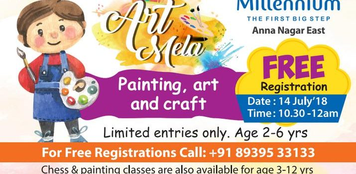 Little Millenium Presents Art Mela on July 14, 2018