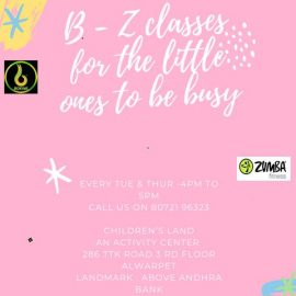 Bokwa and Zumba Classes for Kids