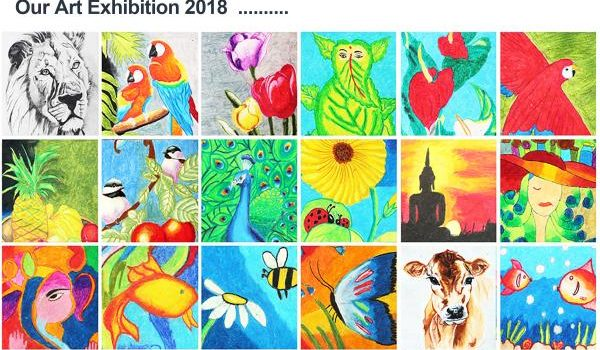 COLOURFUL EXPRESSIONS EXHIBITION -2018 | PAMMAL | AUG 3RD
