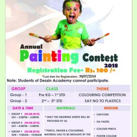 DESSIN ACADEMY – BRANCH PAMMAL – PAINTING CONTEST