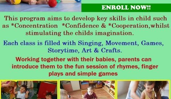 Parent child program at Hansel and Gretel Kids, T.Nagar