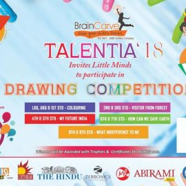 Talentia'18 Mega Drawing Competition for Children