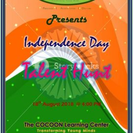 Independence Day 2018 – Talent Hunt by The COCOON Learning Center