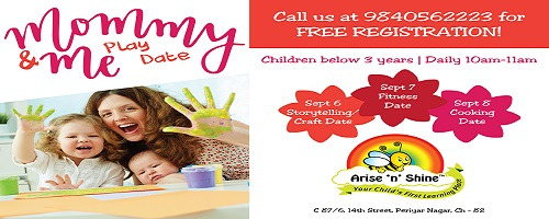 Mommy & Me Play Date at Arise 'n' Shine