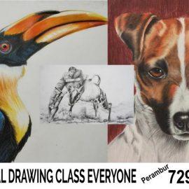 Drawing Class at Thiru vika nagar
