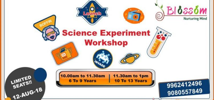 "Blossom Presents ""Science Experiment Workshop"" for Children"