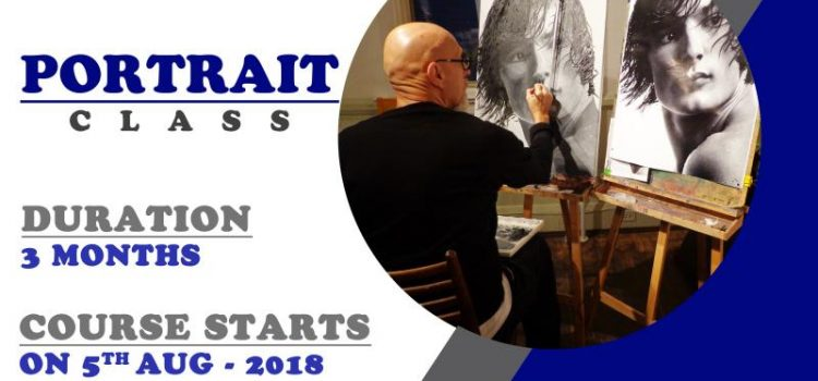 Dessin Academy Portrait Classes Starts from Aug 5th