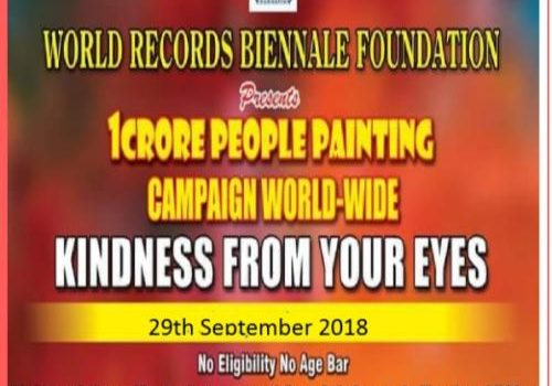 World Wide Painting Campaign on 29th September 2018 at Thiruvanmiyur