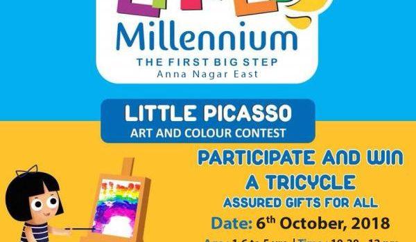 Little Picasso (Art Contest) at Little Millennium, Anna Nagar East