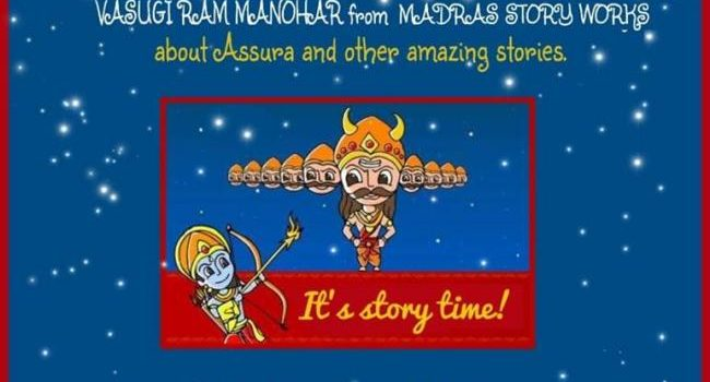 Kangaroo Kids Anna Nagar Story Telling Session about Assura