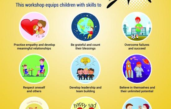 Happiness Workshop for children from age 7 to 15 years