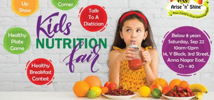 Kid's Nutrition Fair at Arise 'n' Shine