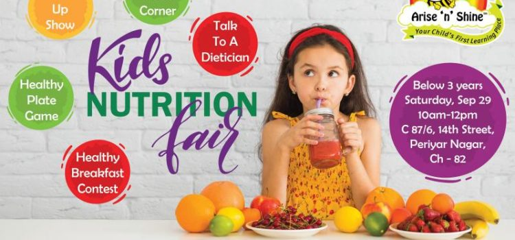 Kid's Nutrition Fair on Saturday, September 29th, 2018