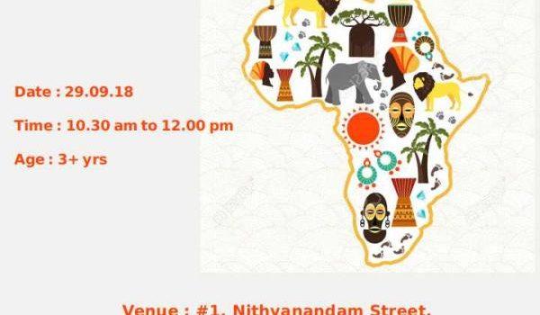African Folktales in Weekend Storytelling Session on 29/09/18